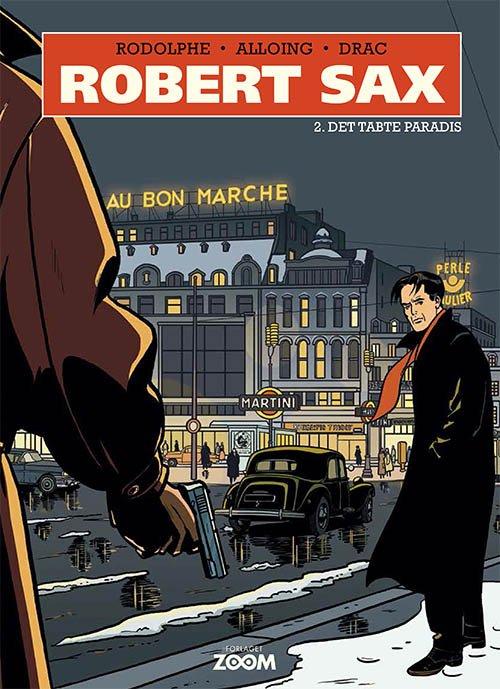 Billede af Robert Sax 2: Det Tabte Paradis - Rodolphe - Tegneserie