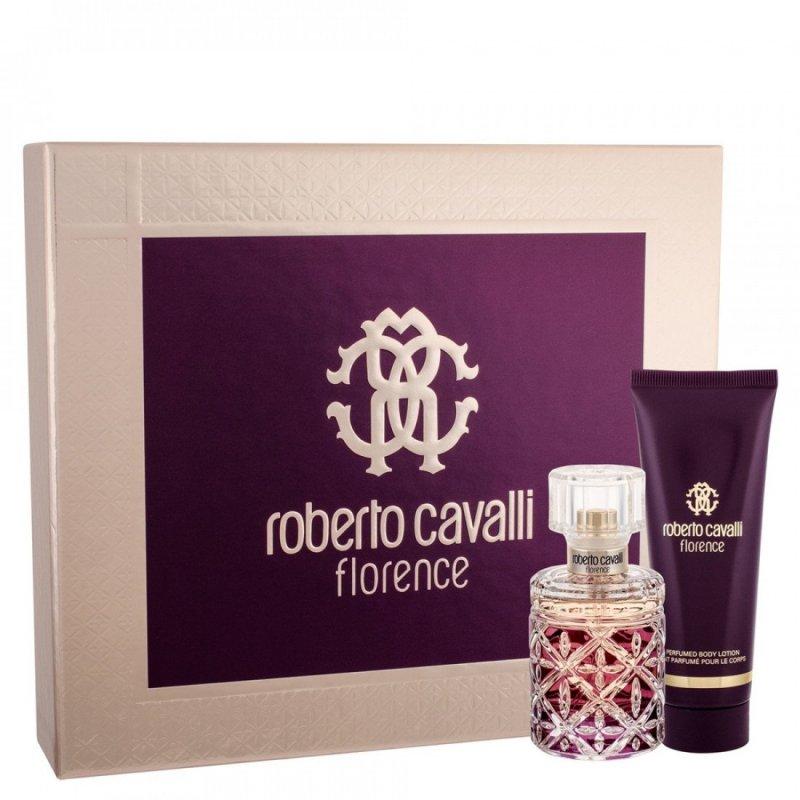 Image of   Roberto Cavalli Parfume - Florence Edp 50 Ml + Body Lotion 75 Ml - Gavesæt