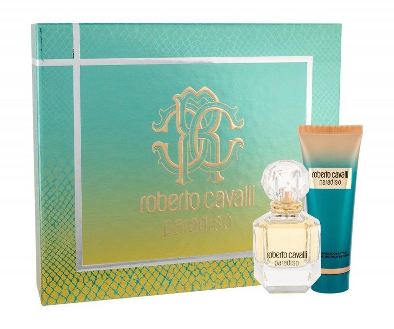 Image of   Roberto Cavalli Parfume - Paradiso Edp 50 Ml + Body Lotion 75 Ml - Gavesæt