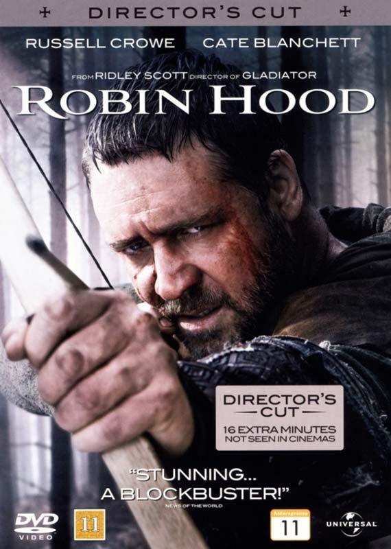 Image of   Robin Hood - 2010 - Russell Crowe - DVD - Film