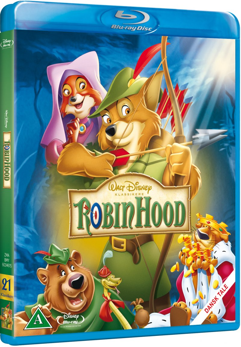 Image of   Robin Hood - Disney - Blu-Ray