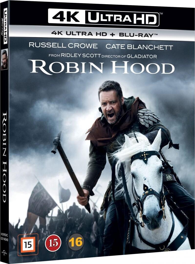 Image of   Robin Hood - 2010 - Russell Crowe - 4K Blu-Ray