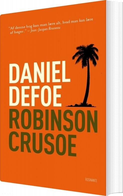 Image of   Robinson Crusoe - Daniel Defoe - Bog