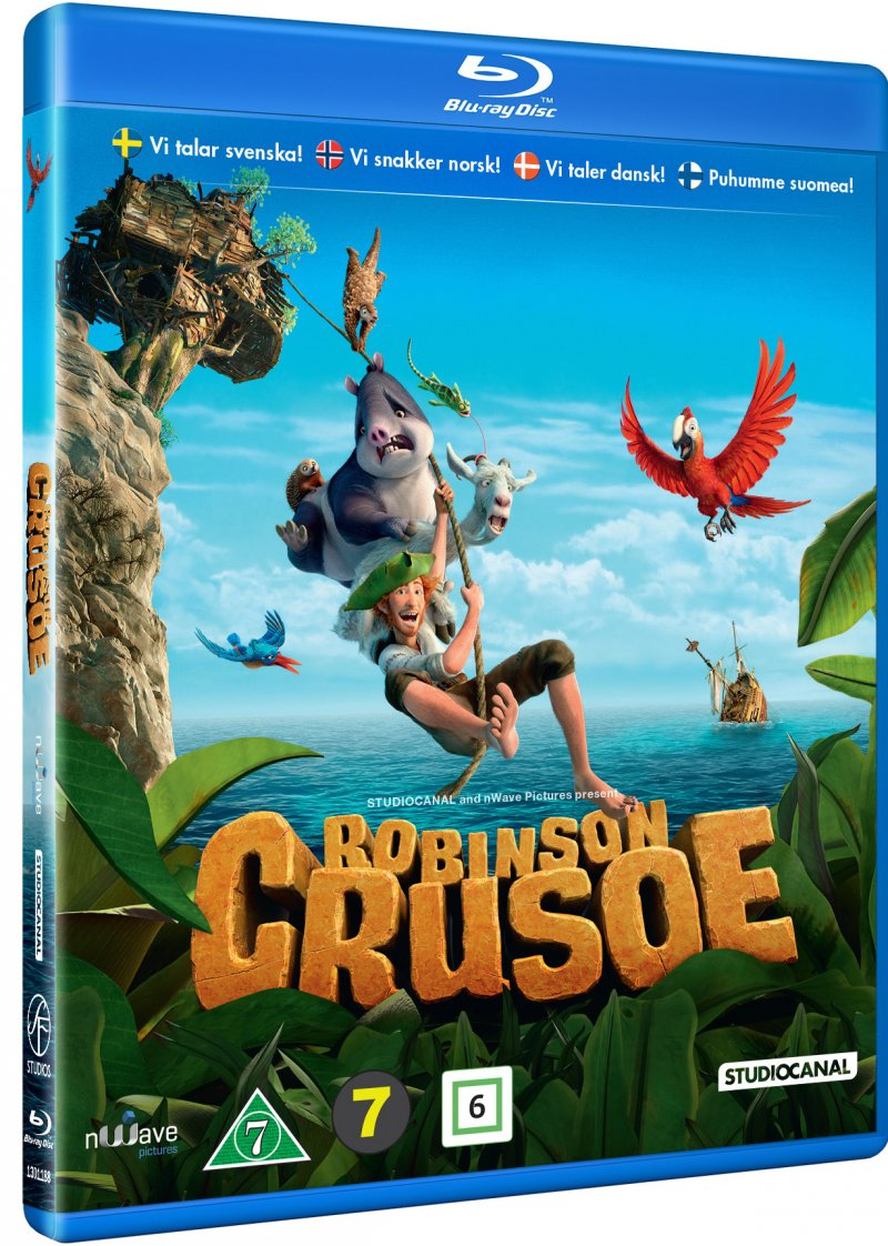 Image of   Robinson Crusoe - Blu-Ray