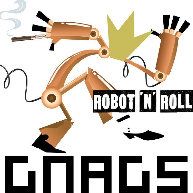 Image of   Gnags - Robot n Roll - CD