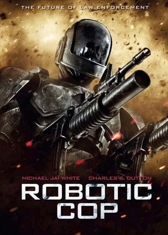 Image of   Android Cop / Robotic Cop - DVD - Film