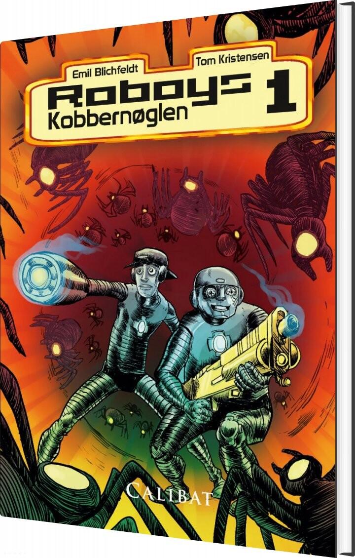 Image of   Roboys 1 - Emil Blichfeldt - Bog