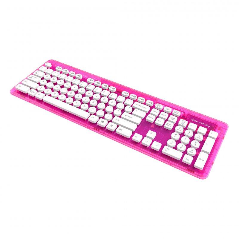 Image of   Rock Candy Wireless Keyboard / Bluetooth Tastatur - Pink Palooza