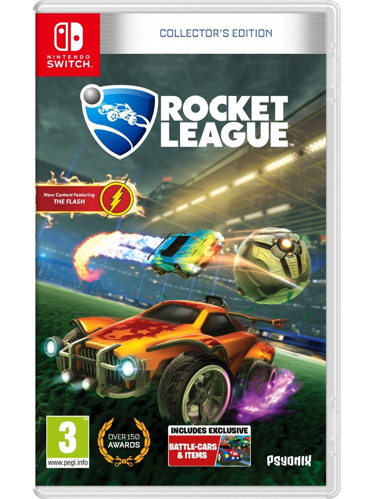 Image of   Rocket League (collectors Edition) - Nintendo Switch