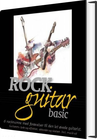 Rockguitar Basic - Henrik Mygind - Bog