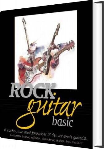 Image of   Rockguitar Basic - Henrik Mygind - Bog