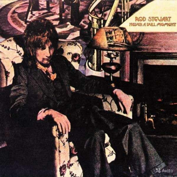 Rod Stewart - Never A Dull Moment - Vinyl / LP