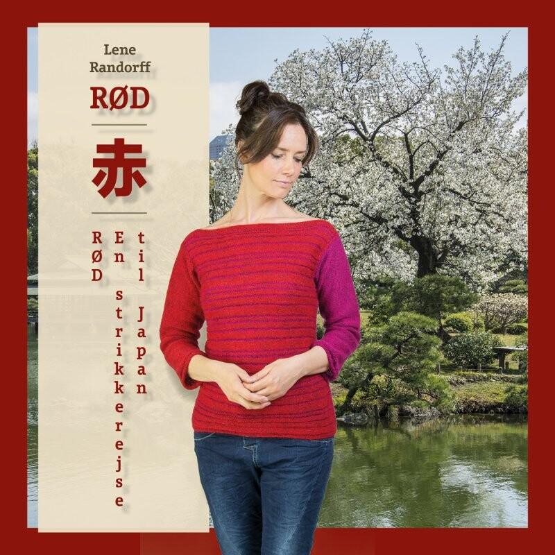 Image of   Rød En Strikkerejse Til Japan - Lene Randorff - Bog