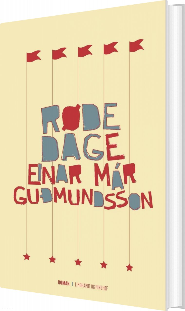 Røde Dage - Einar Már Gudmundsson - Bog
