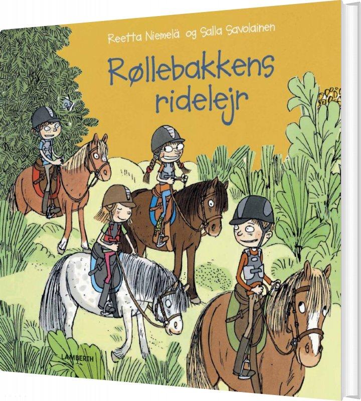 Røllebakkens Ridelejr - Reetta Niemelä - Bog