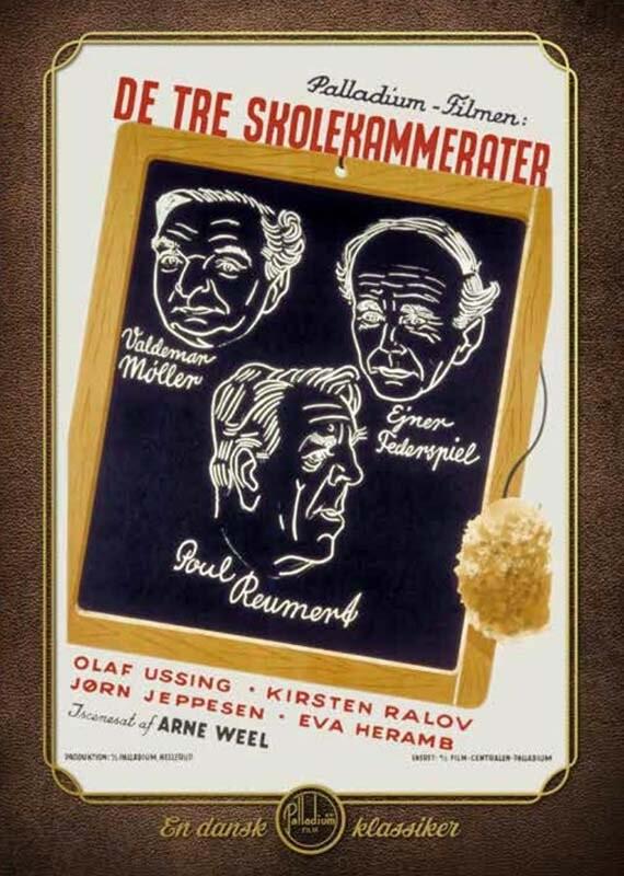 Image of   De Tre Skolekammerater - DVD - Film