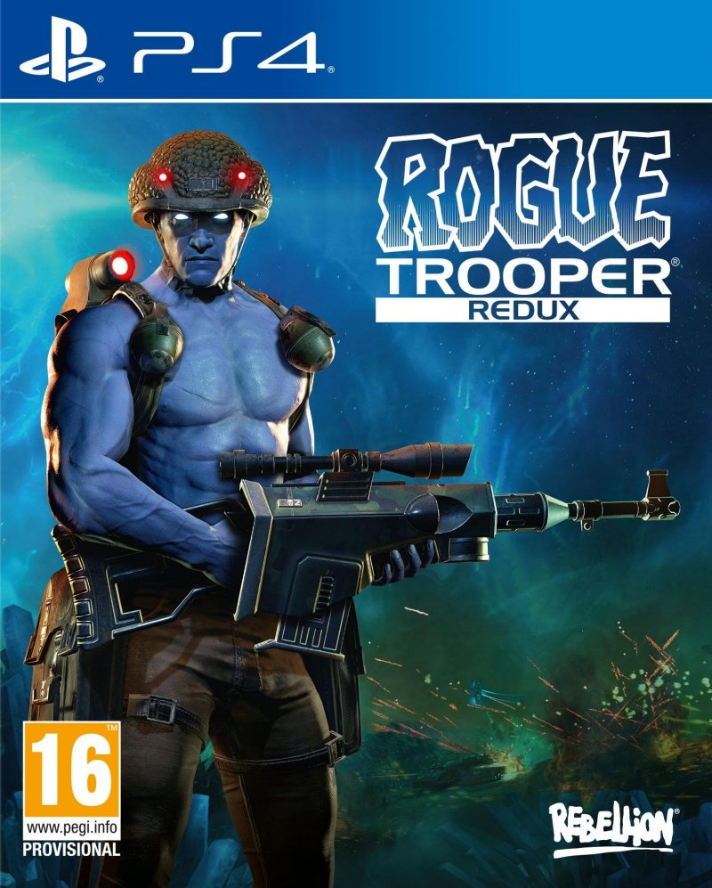 Image of   Rogue Trooper Redux - PS4