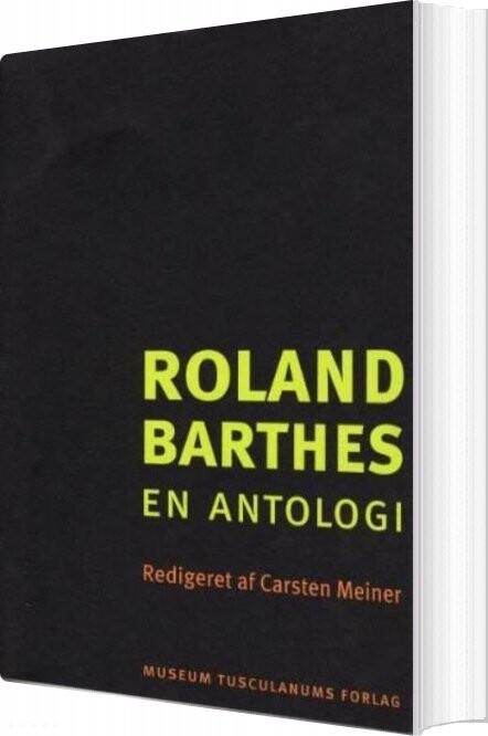 Roland Barthes - Carsten Meiner - Bog