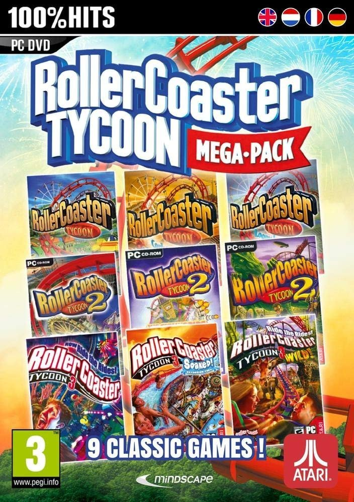 Image of   Rollercoaster Tycoon: 9 Mega Pack - PC