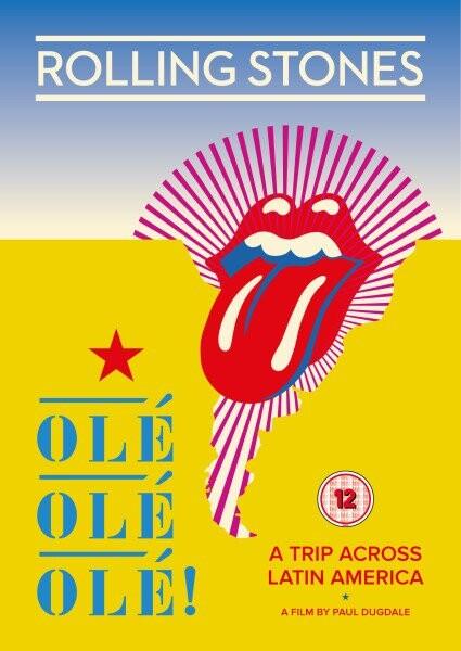 Billede af The Rolling Stones Olé Olé Olé: A Trip Across Latin America - DVD - Film