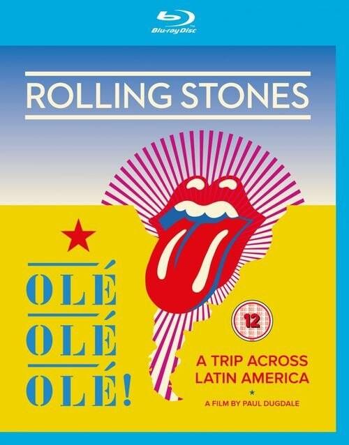 Billede af The Rolling Stones: Olé Olé Olé - A Trip Across Latin America - Blu-Ray