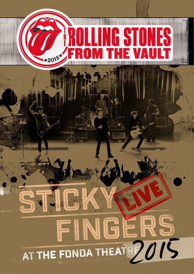 Billede af The Rolling Stones - Sticky Fingers - Live At The Fonda Theatre - DVD - Film