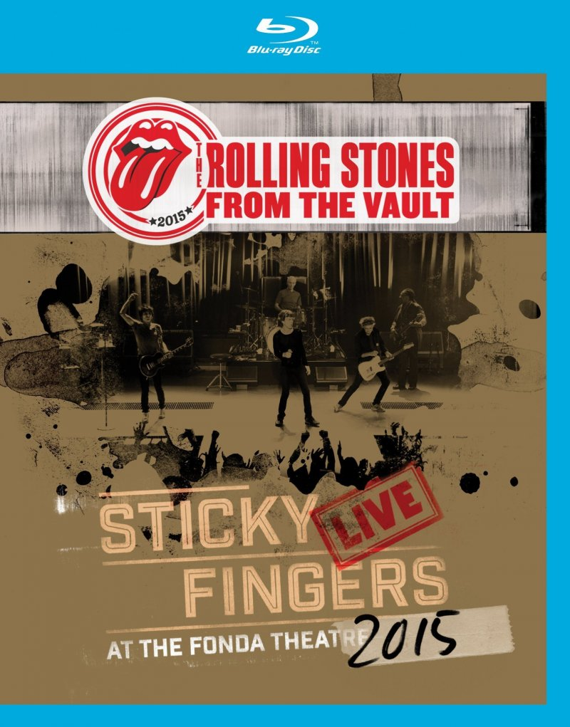Billede af The Rolling Stones - Sticky Fingers - Live At The Fonda Theatre - Blu-Ray