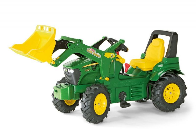 traktor med pedaler