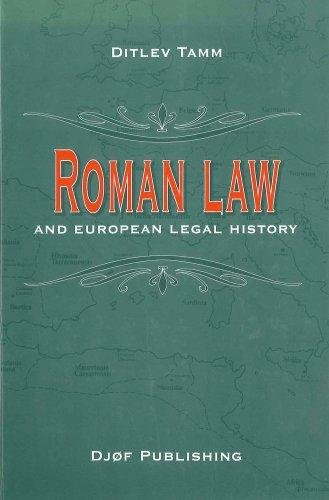 Image of   Roman Law And European Legal History - Tamm D - Bog
