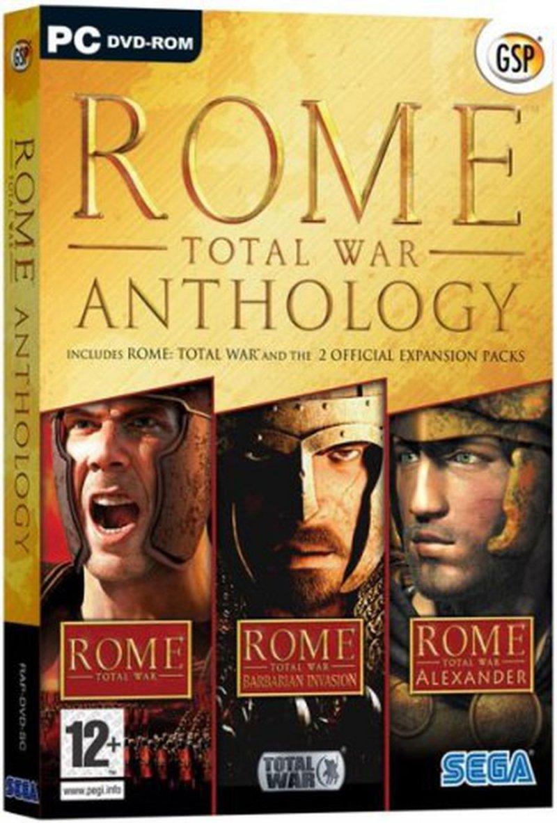 Image of   Rome Anthology - Triple Pack - PC