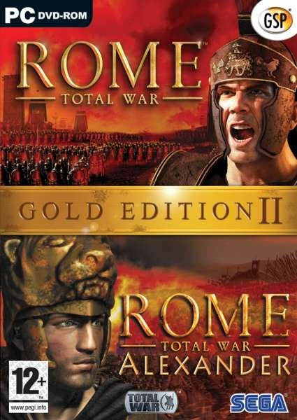 Image of   Rome Total War Gold Edition Ii - PC