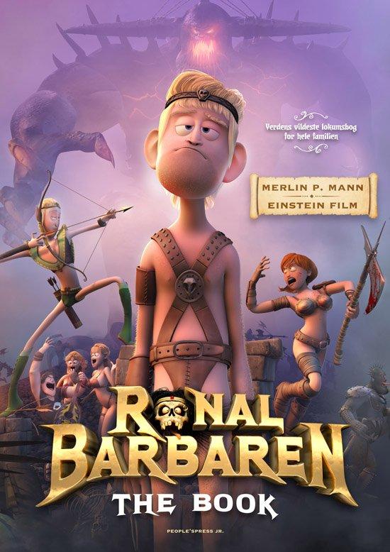 Image of   Ronal Barbaren - The Book! - Merlin P. Mann - Bog