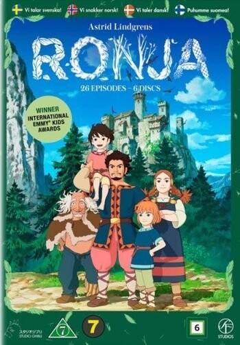 Billede af Astrid Lindgrens Ronja - Tv-serie - DVD - Film