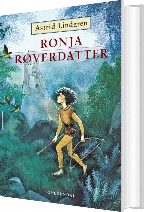 Ronja Røverdatter - Astrid Lindgren - Bog