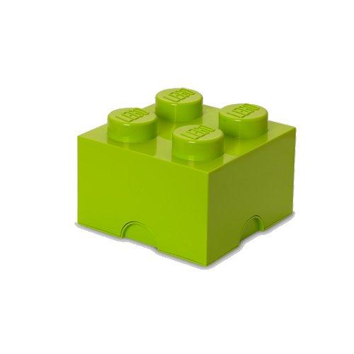 Lego Opbevaringskasse - Brick 4 - Neon - Room Copenhagen