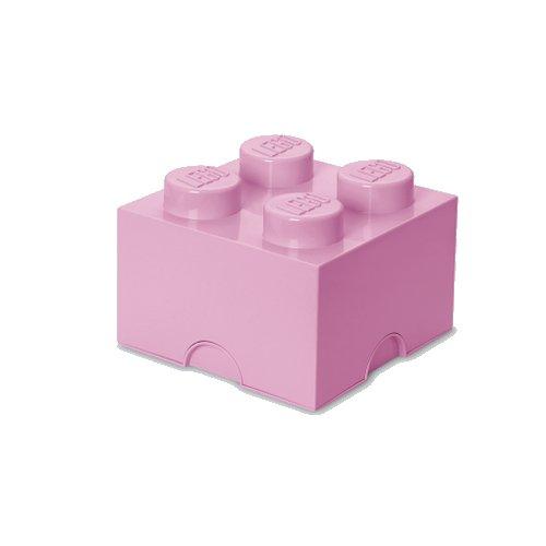 Lego Opbevaringskasse - Brick 4 - Lys Lilla - Room Copenhagen