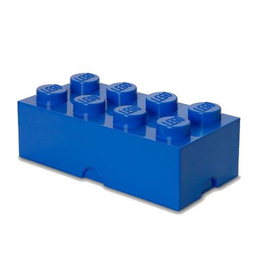 Lego Opbevaringskasse - Brick 8 - Blå - Room Copenhagen