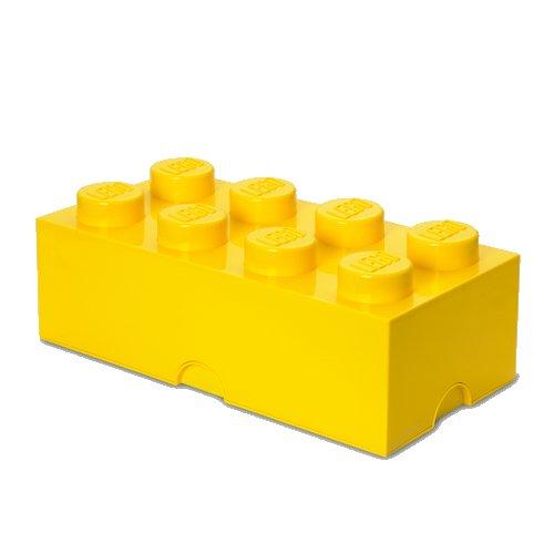 Lego Opbevaringskasse - Brick 8 - Gul - Room Copenhagen