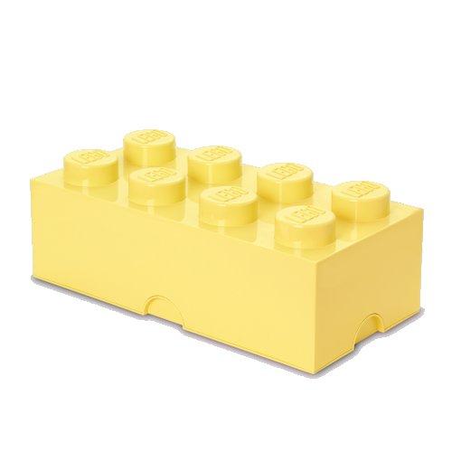 Lego Opbevaringskasse - Brick 8 - Lys Gul - Room Copenhagen
