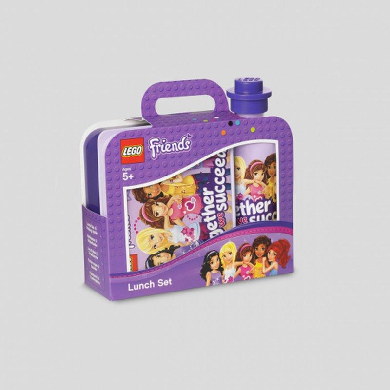 madkassen, lego madkasse, skolestart, drikkeflaske, madkassesæt, lego friend, vandflaske