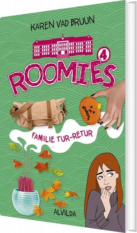 Roomies 4: Familie Tur-retur - Karen Vad Bruun - Bog