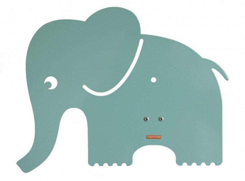 Image of   Roommate Natlampe / Elefant Lampe - Mint