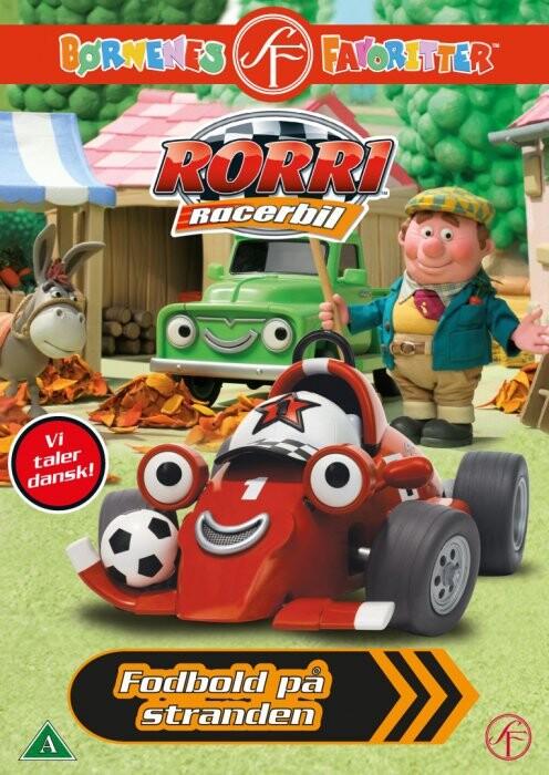Image of   Rorri Racerbil - Fodbold På Stranden - DVD - Film