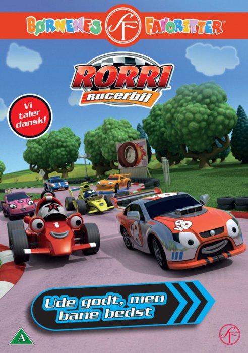 Billede af Rorri Racerbil - Ude Godt Men Bane Bedst - DVD - Film