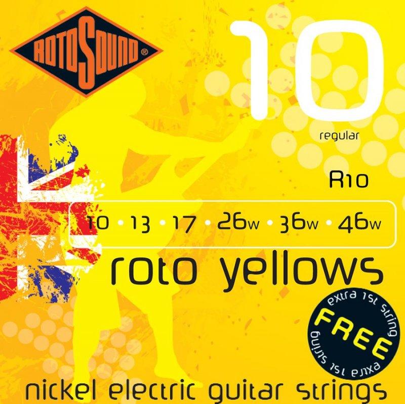 Image of   Rotosound R10 El Guitar Strenge Sæt 10-46