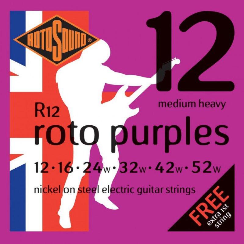 Image of   Rotosound R12 El Guitar Strenge Sæt 12-52