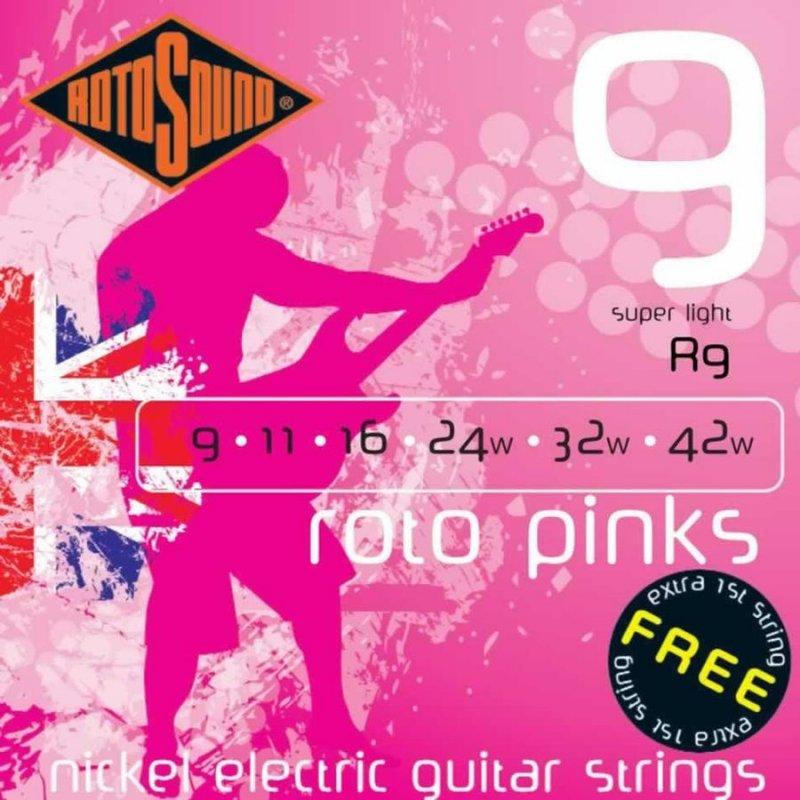 Image of   Rotosound R9 El Guitar Strenge Sæt 9-42