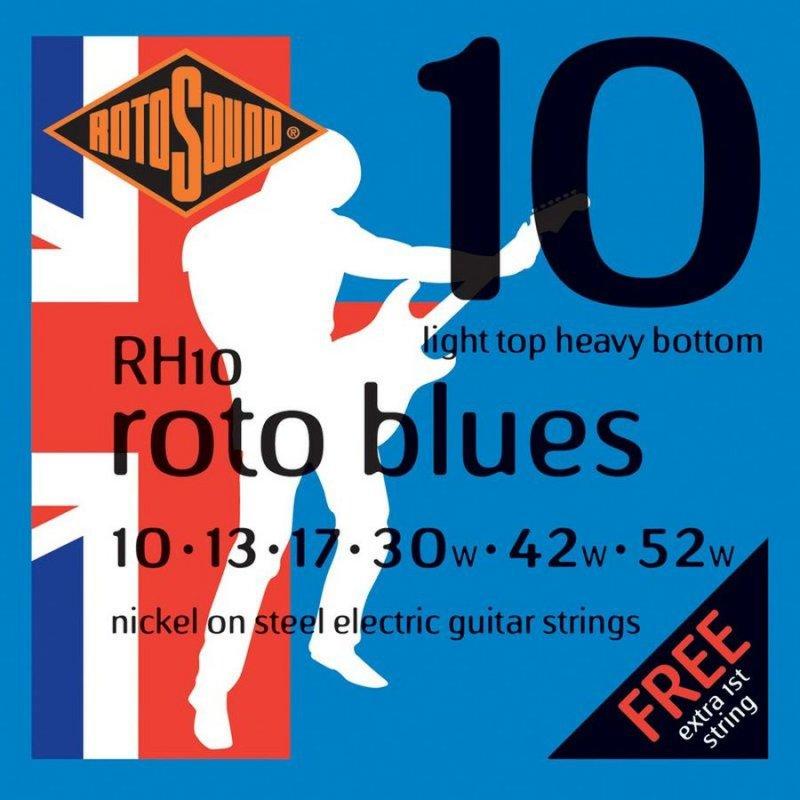 Image of   Rotosound Rh10 El Guitar Strenge Sæt 10-52