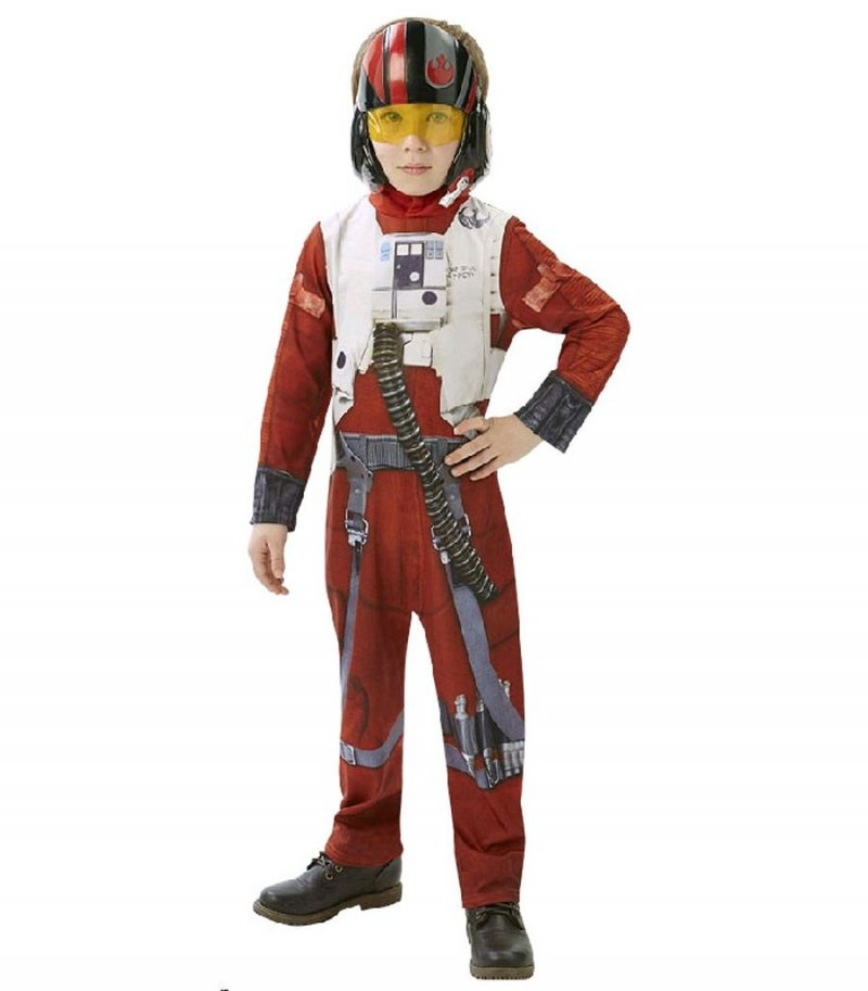 Image of   Star Wars Kostume - Xwing Fighter Pilot 5-6 år - Rubies