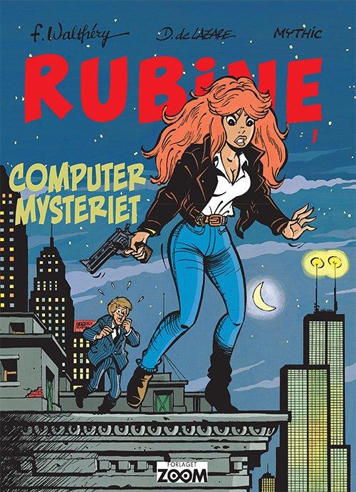 Billede af Rubine: Computer Mysteriet - Walthéry - Tegneserie